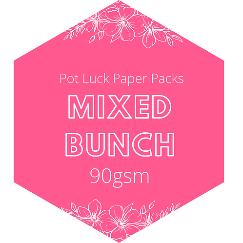 Mixed Bunch: Crepe Paper Pack 90gsm