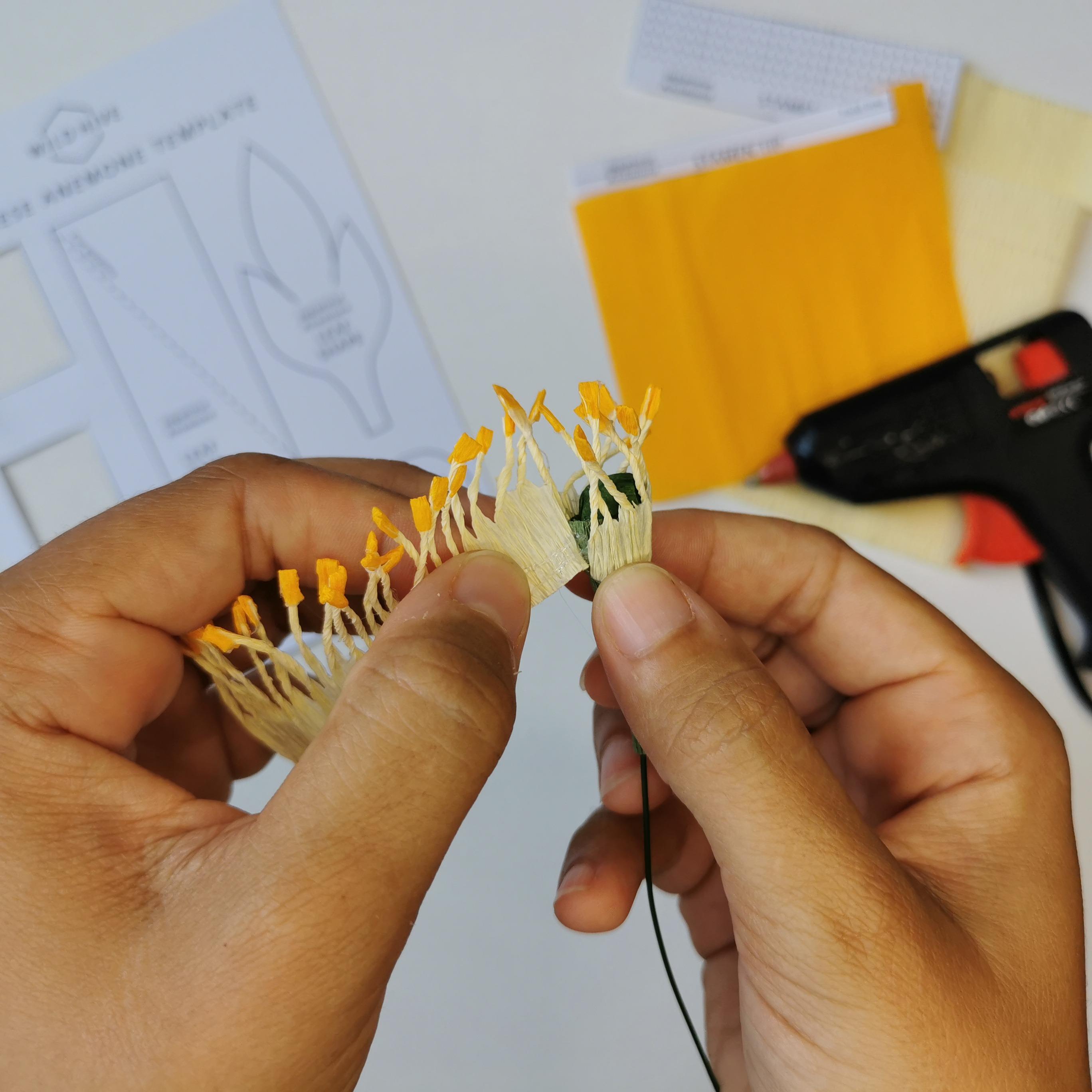 Centre Making - Japanese Anemone Kit