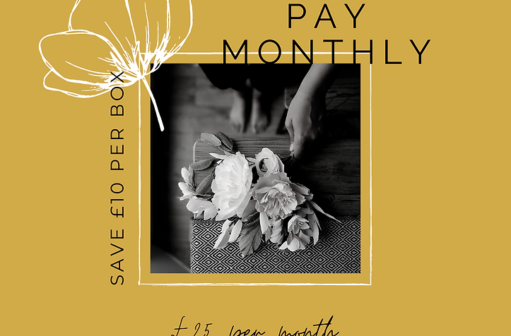 Original: Pay Monthly Paper Flower Kit Subscription