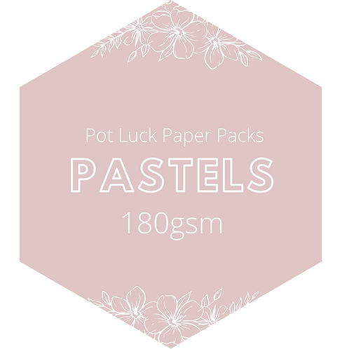 Pastels: Crepe Paper Pack 180gsm
