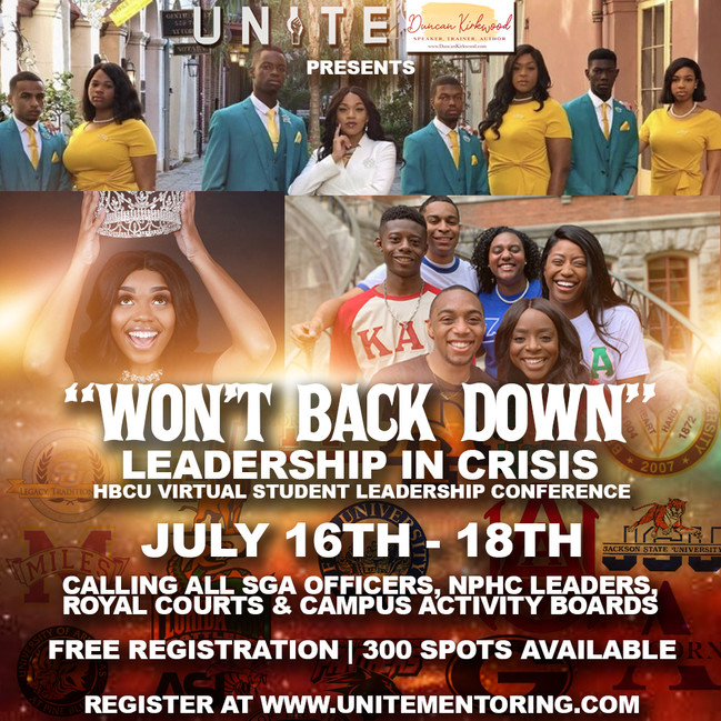 LEADERSHIP IN CRISIS  2020 VIRTUAL CONFERENCE,  July 16-18, 2020.
