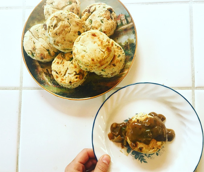 Medicated Biscuits & Gravy