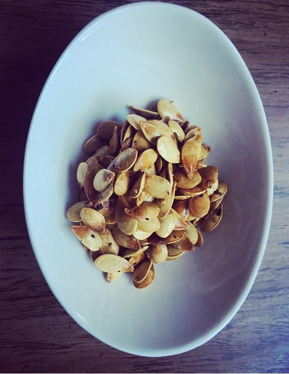Toasty Nutty Medicated Pumpkin Seeds
