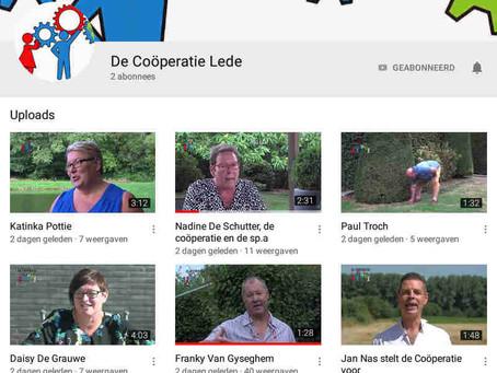 De coöperatie ook op Youtube