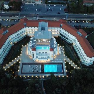 Il resort dall'alto
