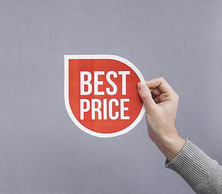 Approfitta del prezzo più basso