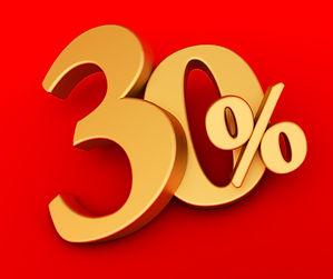 LAST MINUTE -30%