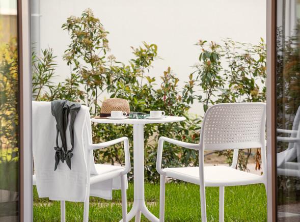 momenti di relax in giardino