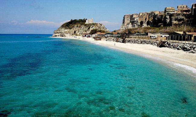Spiaggia marina di Tropea