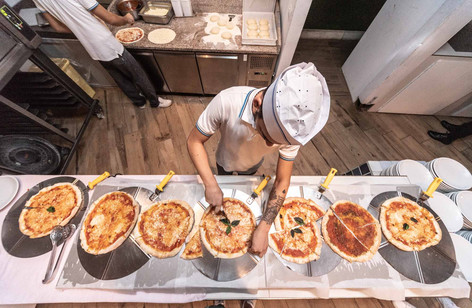 Pizza a buffet per celiaci