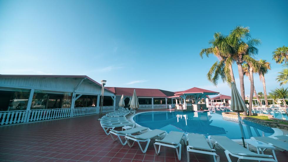 Camere standard vista piscina