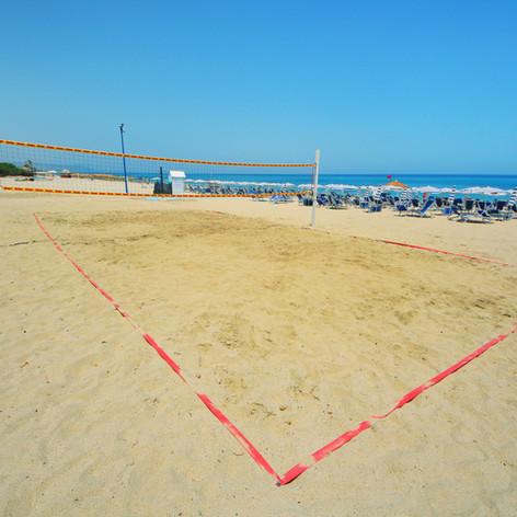 Il campo di Beach volley