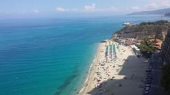 Spiaggia Tropea Bandiera BLU
