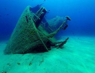 I fondali, tutt'attorno all'isola, sono ricchi di vita marina e di curiosità: i sub possono avventurarsi in esplorazioni di grotte, franate, secche e relitti.