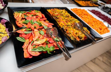 Piatti cucinati al momento senza glutine