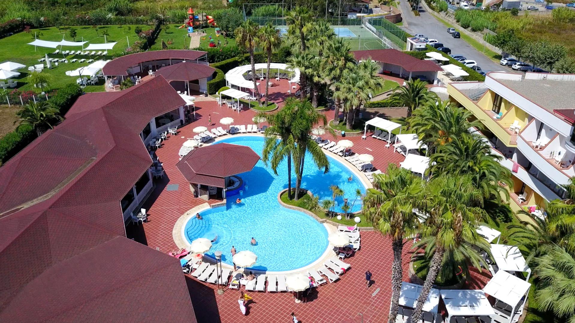 Resort - Vista dall'alto