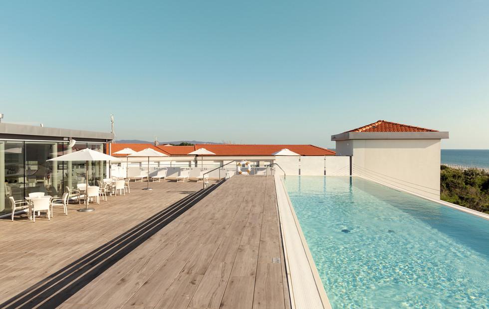 Piscina al rooftop