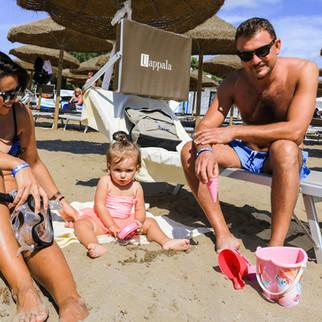 Spiaggia adatta ai bambini