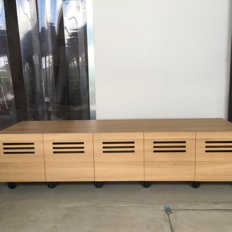 Audio furniture Oak