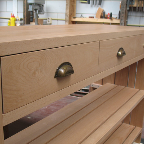 Kitchen furniture Beech