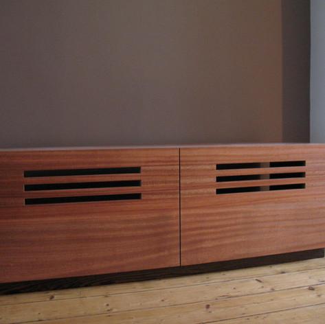 TV cabinet Mahogany