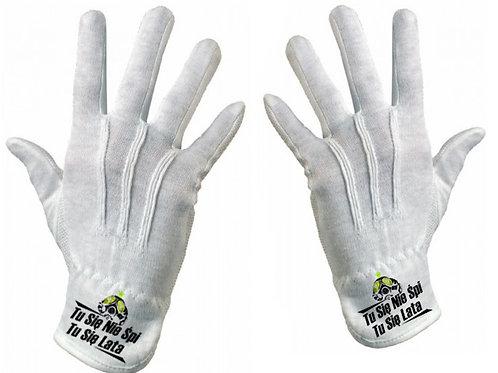 TuSieNieSpiTuSieLata rękawiczki