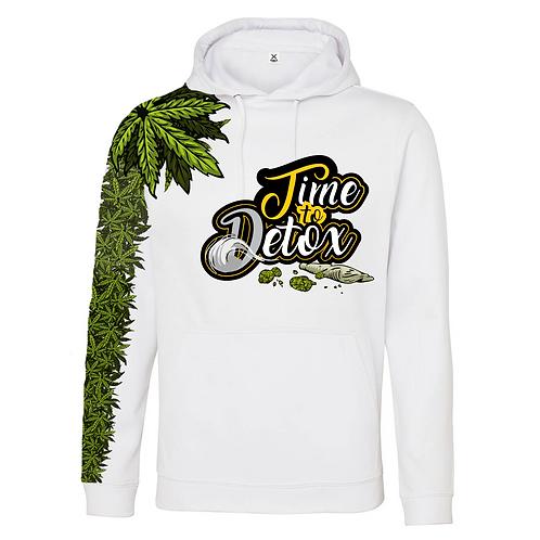 Time to Detox | smoke time Hoodie