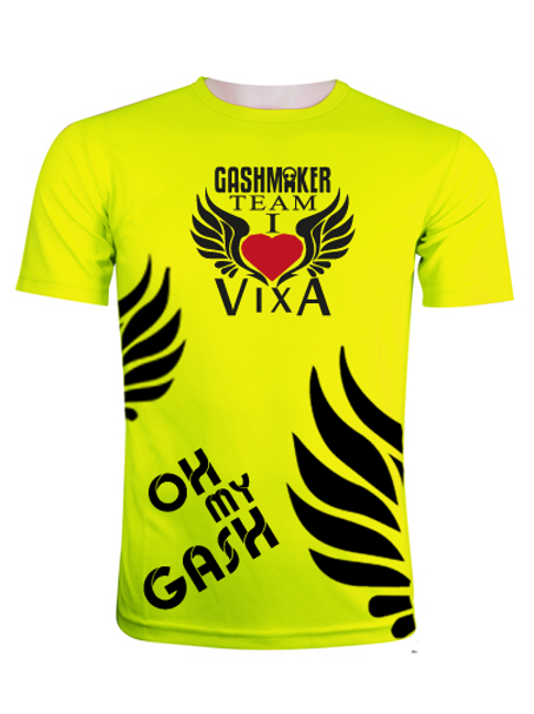 GASHMAKER team | Oh my Gash neon yellow