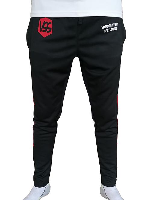 Vixiarskie Siły Specjalne | spodnie | black&red