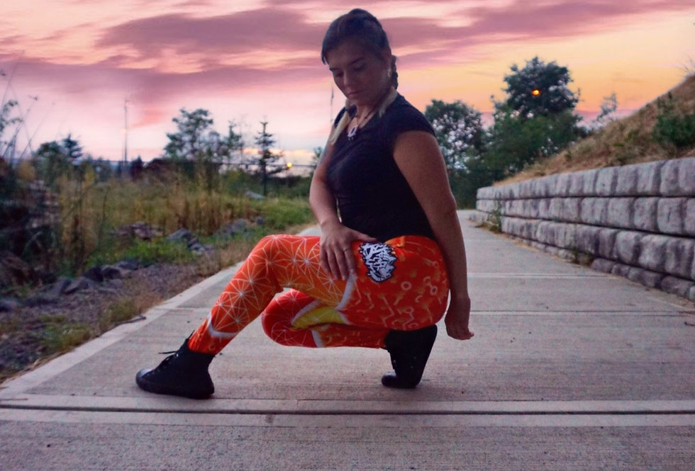 """Sacred Fire"" Leggings"