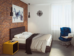 дизайн интерьера спальня жилье
