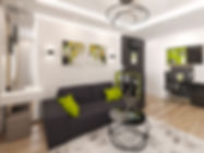 visualization interior livingroom Poltav