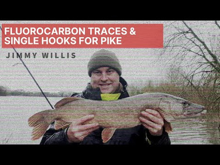 Fluorocarbon Traces & Single Hooks For Pike