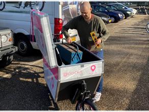 MOBIAN en DOCKR lanceren een uniek P+R concept met een elektrische cargo bike in Amsterdam.