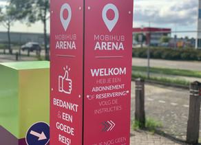 MOBIHUB per 01-09 open in Amsterdam Arena gebied