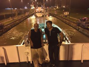 パナマ運河通過!~太平洋から大西洋へ~