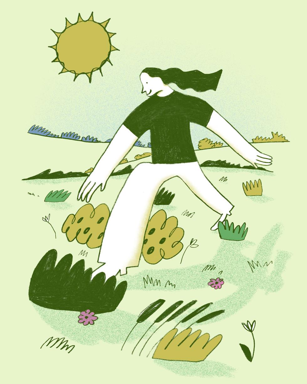 Walking Under The Sun