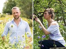 Isabelle Blum und Sebastian Wegener