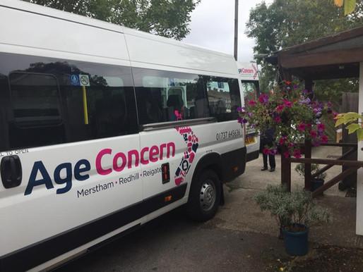 New mini bus arrives!