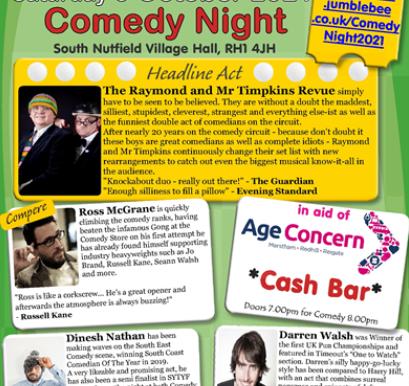 Comedy Night in October