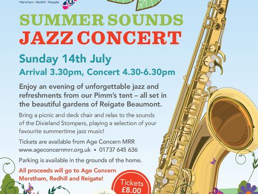 Summer Sounds Jazz Concert 2019