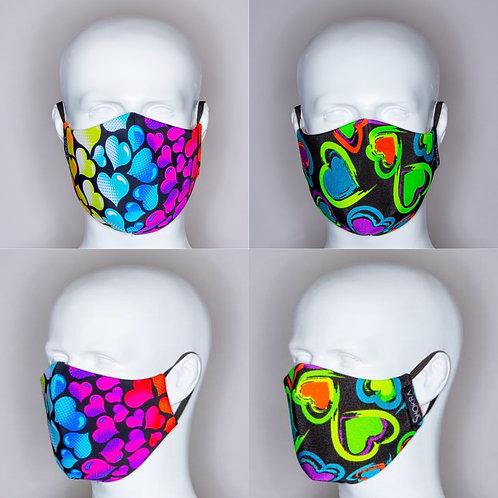 Face Mask-Rebel Heart