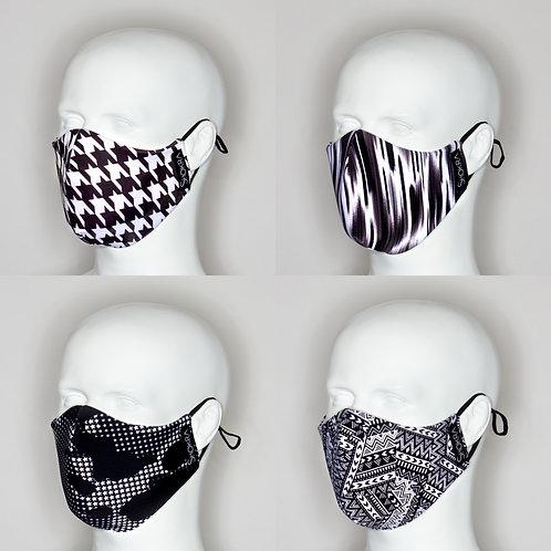 Face Mask-Black & White