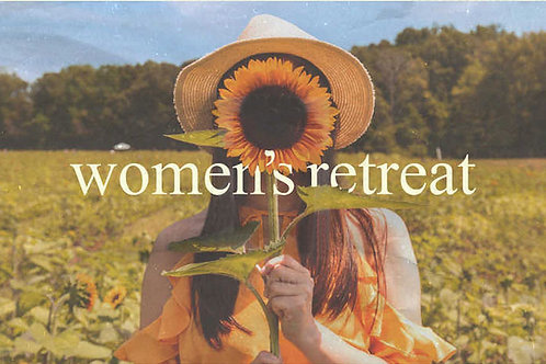 March 19 - 21, 2021 Weekend Silent Preached for Women
