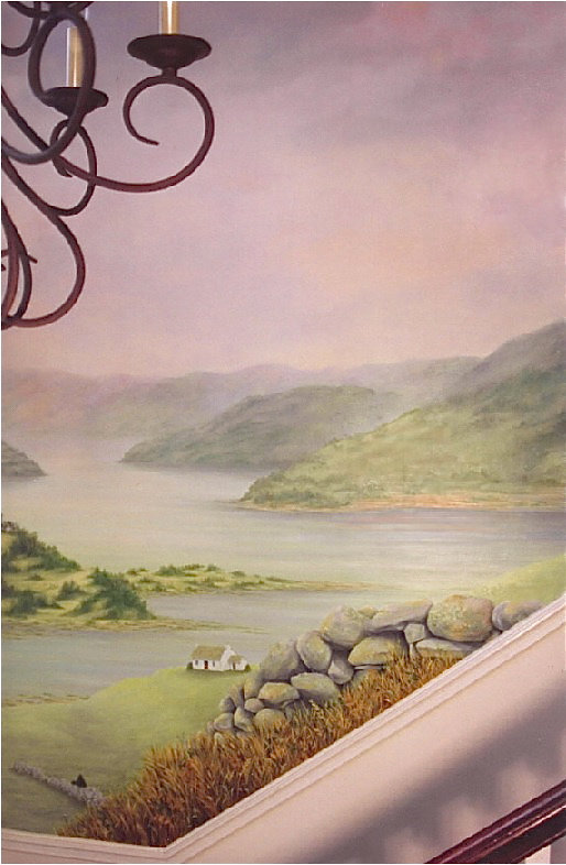 Irish Landscape Mural