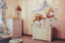 Hand Painted Carousel Horse Girl's Room