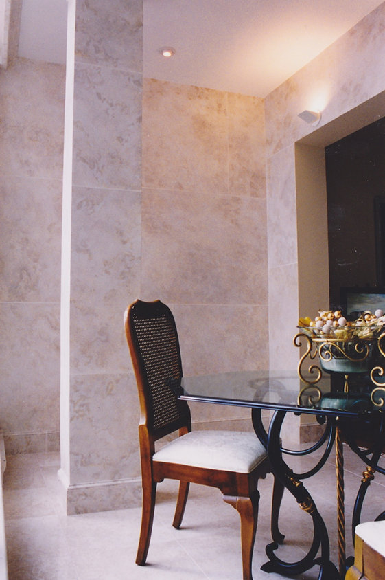 Limestone Faux Finish