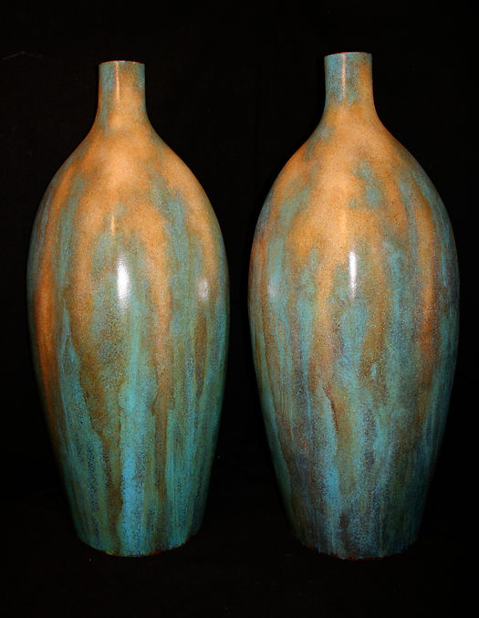 Large Custom Hand Crafted Vases