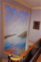 Maritime Theme Mural on Canvas