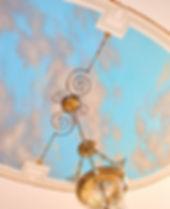 Trompe L'oeil Sky Ceiling